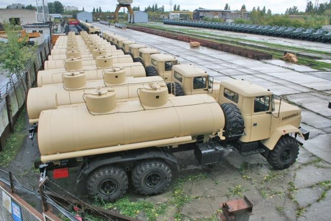 Автоцистерны КрАЗ АЦ-12-63221