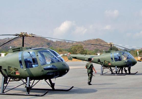 Enstrom 480B ВВС Тайланда (c) www.helihub.com