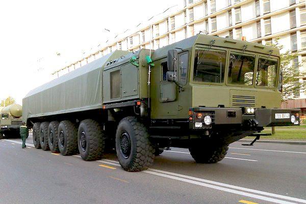 Шасси МЗКТ-79291 (c) www.vpk.gov.by