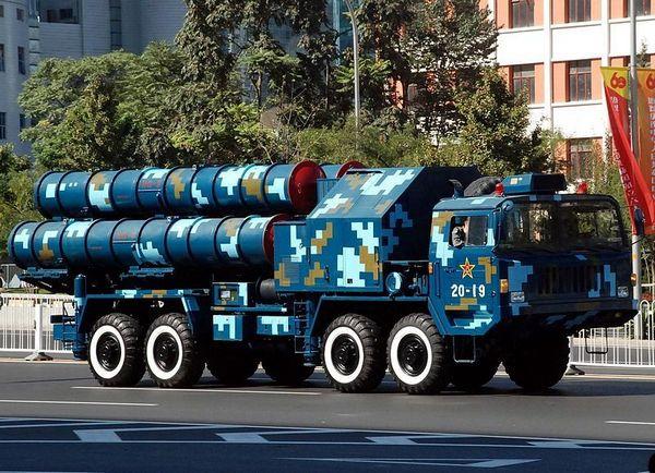 Зенитный ракетный комплекс HQ-9
