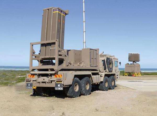 Мобильная пусковая установка Umkhonto-IR (c) Denel Dynamics
