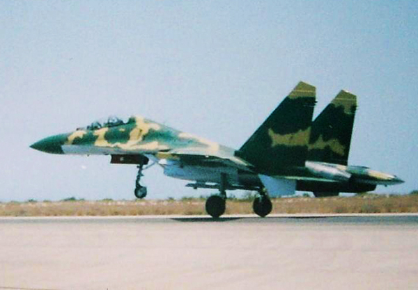 Су-27 ВВС Анголы