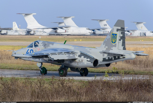 Су-25М1 ВС Украины (c) Guk Aleksandr spotters.net.ua