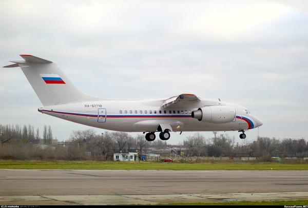 Ан-148-100Е ВВС России (c) russianplanes.net