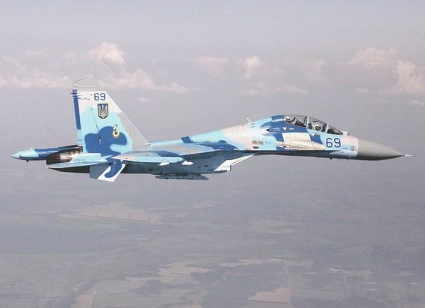 Су-27 ВС Украины (c) www.wing.com.ua