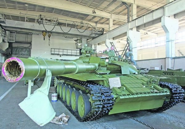 Т-72УА1 (c) Фото: А. Яремчук
