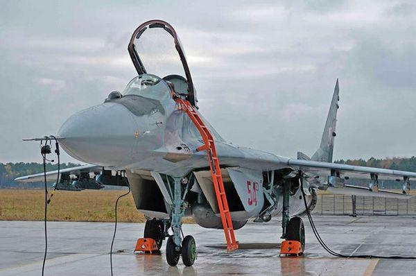 МиГ-29А ВВС Польши (c) www.facebook.com