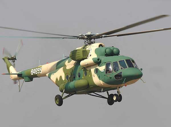 Вертолет Ми-171Е Фото пресс-службы ОАО Вертолеты России