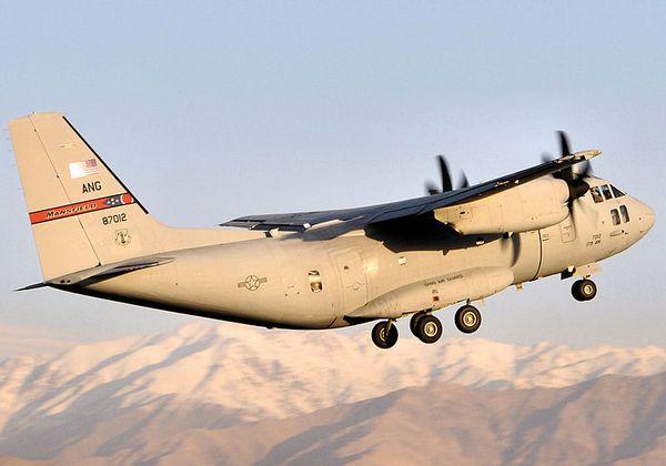 Alenia Aermacchi C-27J Spartan  ВВС США