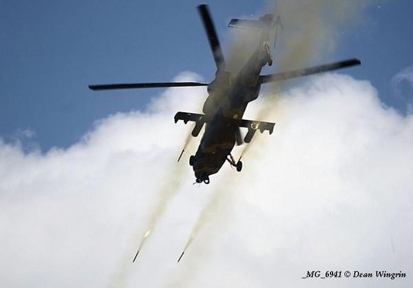 Denel Rooivalk Mk 1 ВВС ЮАР (c) Dean Wingrin / www.saairforce.co.za