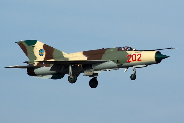 МиГ-21бис ВВС Мозамбика (c) Irbc@ romanian-spotters (via acig.org)