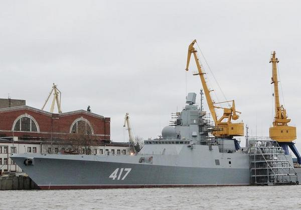 Головной фрегат проекта 22350 Адмирал флота Советского Союза Горшков