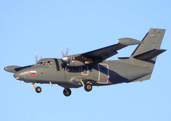 L-410 ВВС России (c) sdelanounas.ru