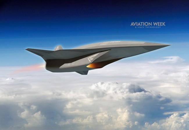 SR-72 - проект американского гиперзвукого ударного(многоцелевого) БПЛА