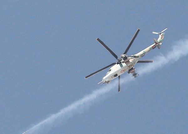 Вертолет Ми-25  ВВС Сирии (c) ИТАР-ТАСС