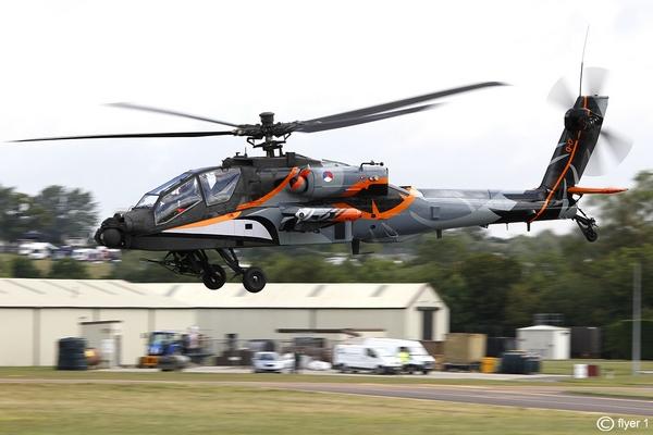 AH-64 Apache ВВС Нидерландов
