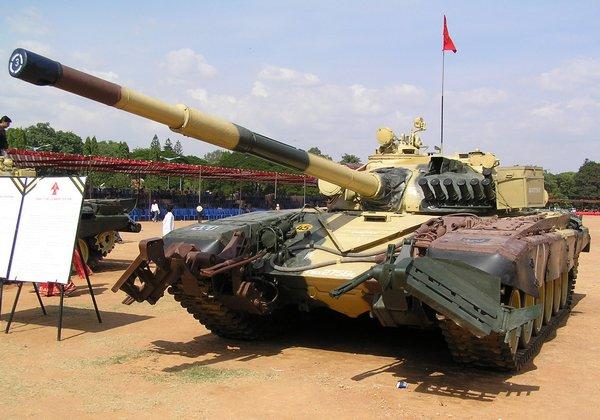 Т-72 ВС Индии (c) defenceforumindia.com