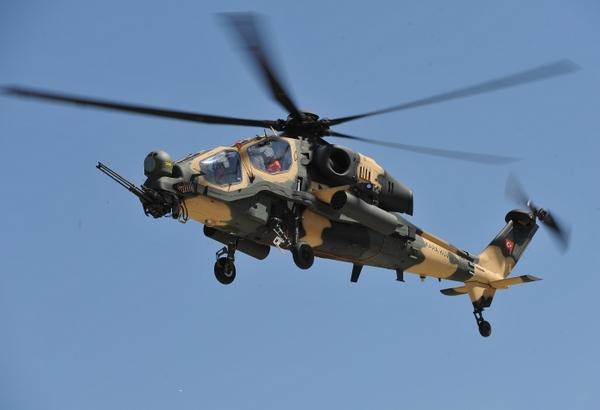 ударный вертолет T-129
