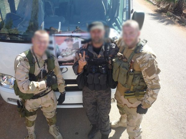 сотрудники  ЧВК Slavonic Corps