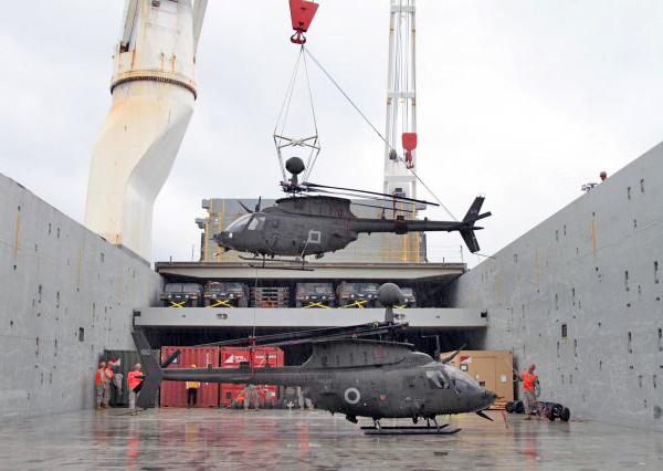 Разгрузка OH-58 (c) rokdrop.com