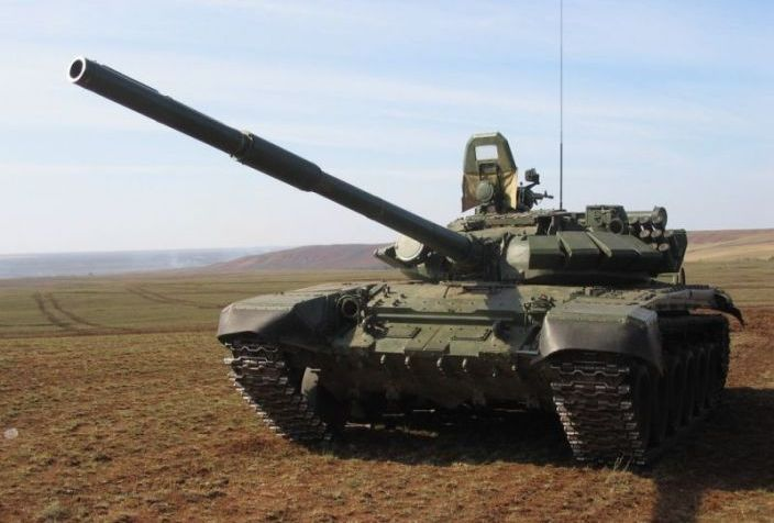 Танк Т-72Б. Фото army.lv