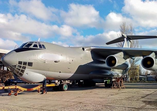 Ил-76МД ВС Украины Фото: Jenyk spotters.net.ua