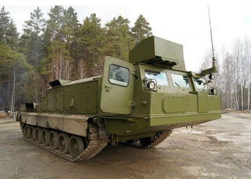 (Самоходные гусеничные шасси для зенитно-ракетных комплексов С-300В4