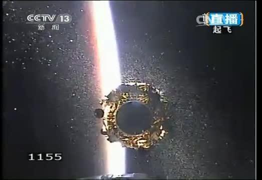 Лунный китайский модуль CE-3 вышел на орбиту