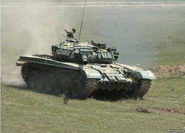 Т-72Б ВС Армении
