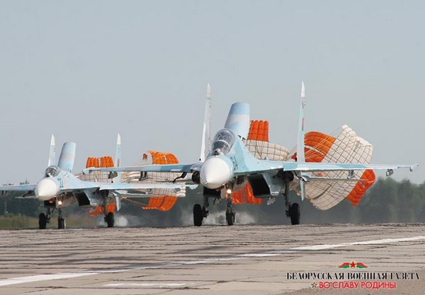 Су-27 ВВС Беларуси (c) mil.by