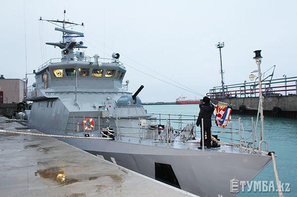 Ракетно-артиллерийский корабль Орал