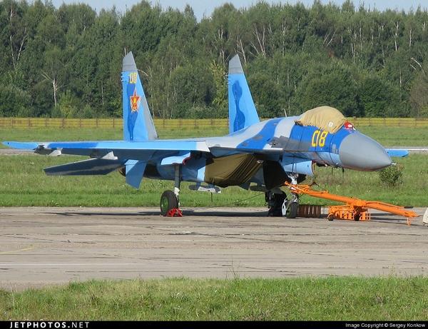 Су-27 ВВС Казахстана (c) Sergey Konkow jetphotos.net