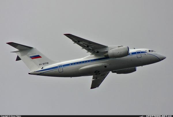 Ан-148-100ЕА для Федеральной службы безопасности России (c) Алексей Филатов / spotters.net.ua