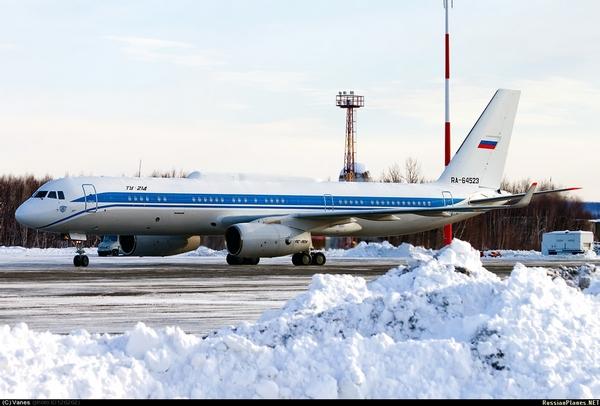 Ту-214ВПУ (c) Иван / Vanes /  russianplanes.net