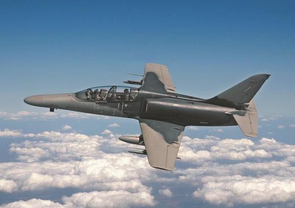 Проектное изображение учебно-боевого самолета Aero Vodochody L-169 AJT (c)  Aero Vodochody