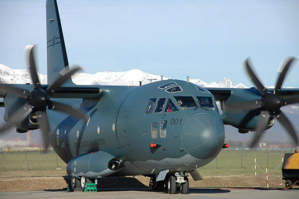 Alenia Aermacchi C-27J ВВС Австралии (c) Alenia Aermacchi