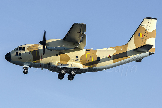 C-27J Spartan ВВС Чада (c) Alessandro Buffa
