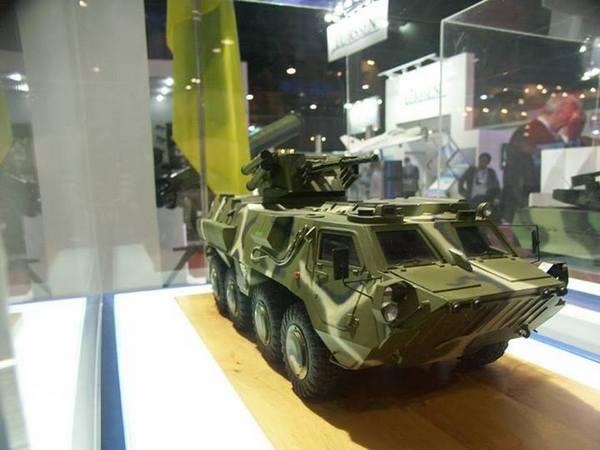 Макет БТР-4
