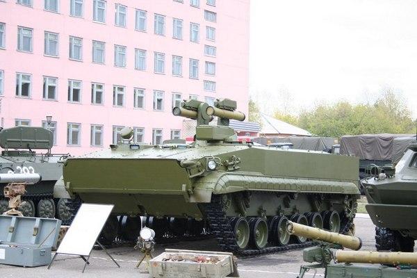 Боевая машина 9П162  «Корнет-Т