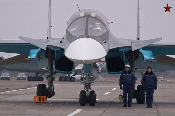 Су-34 (c) Фото: Константин Семенов