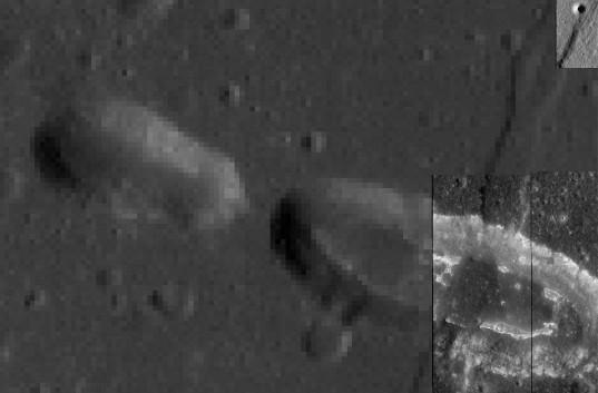 Фото места посадки китайского модуля на Луне