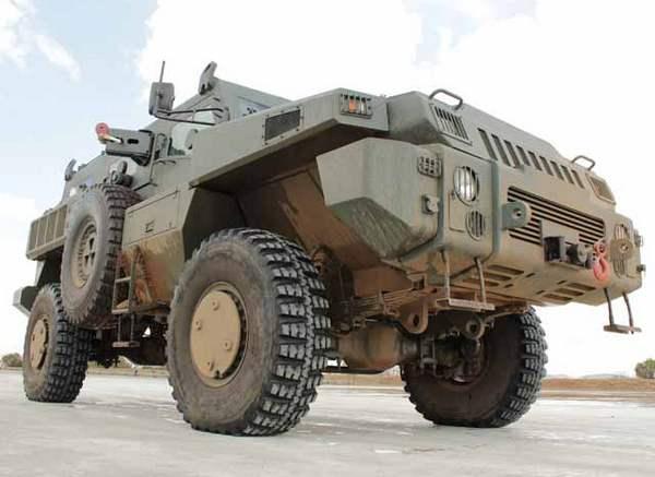 Бронеавтомобиль Marauder Paramount Group