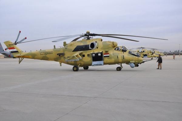 Ми-35М. Аль-Мутанна, 02.12.2013 (с) Reuters
