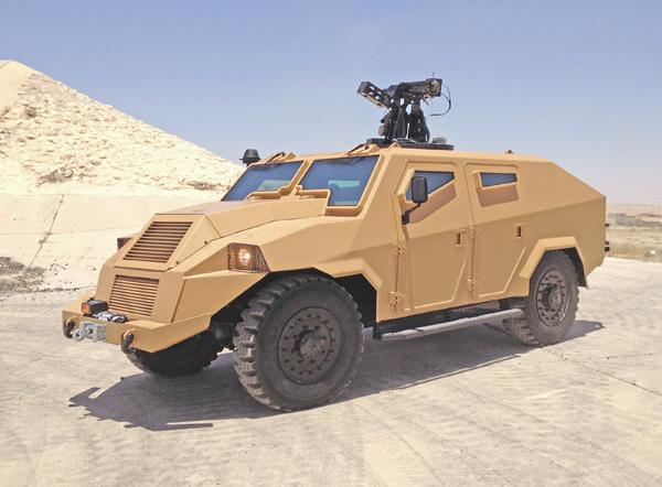 Бронеавтомобиль STALLION II (c) kaddb.mil.jo