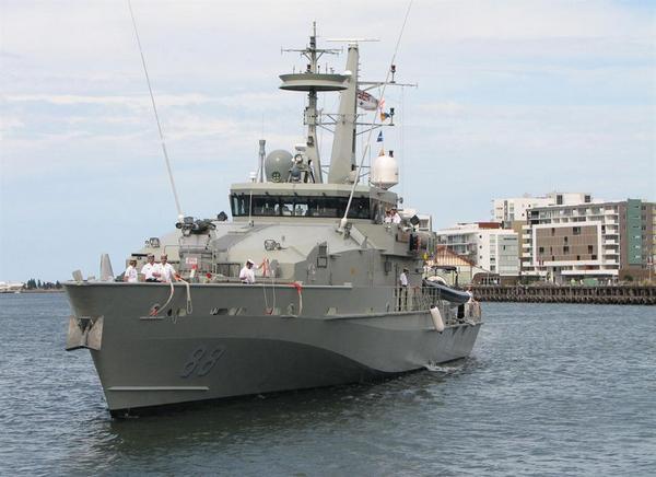 HMAS Maitland (c) nsw.gov.au