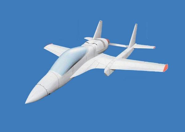 легкий боевой самолет Д-14 (c) ukraineindustrial.info