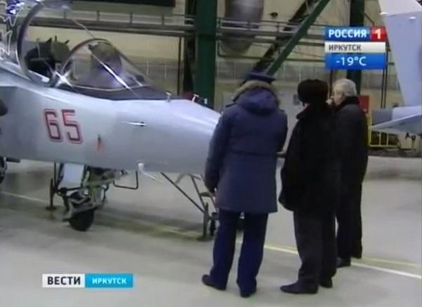 Новые Як-130 в новой окраске