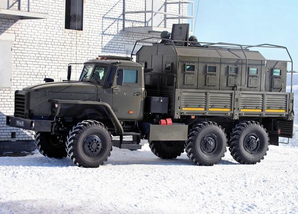 Федерал-45291 на шасси Урал 4320