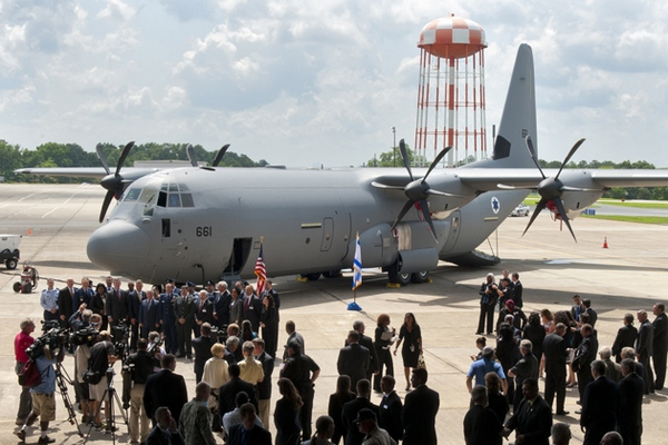 C-130J-30 «Геркулес»  ВВС Израиля (c) www.shephardmedia.com