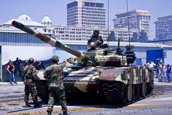 Т-72 ВС Азербайджана